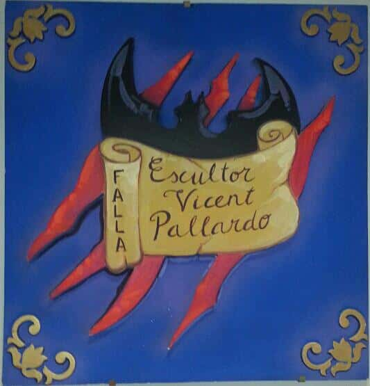 Shield Falla Escultor Vicente Pallardo