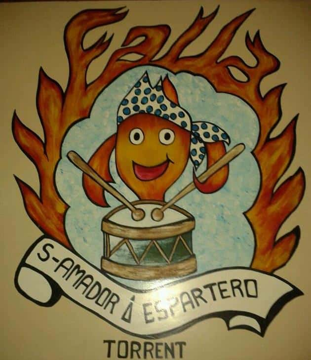 Shield Falla San Amador - Espartero
