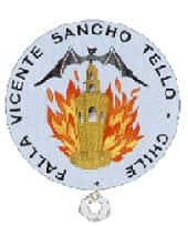 Shield Falla Vicente Sancho Tello - Chile