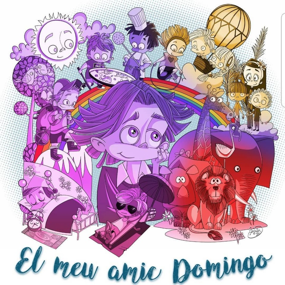 "The Falla Avinguda de l Oest ""Els Velluters"" presented the sketches for their Fallas 2020"