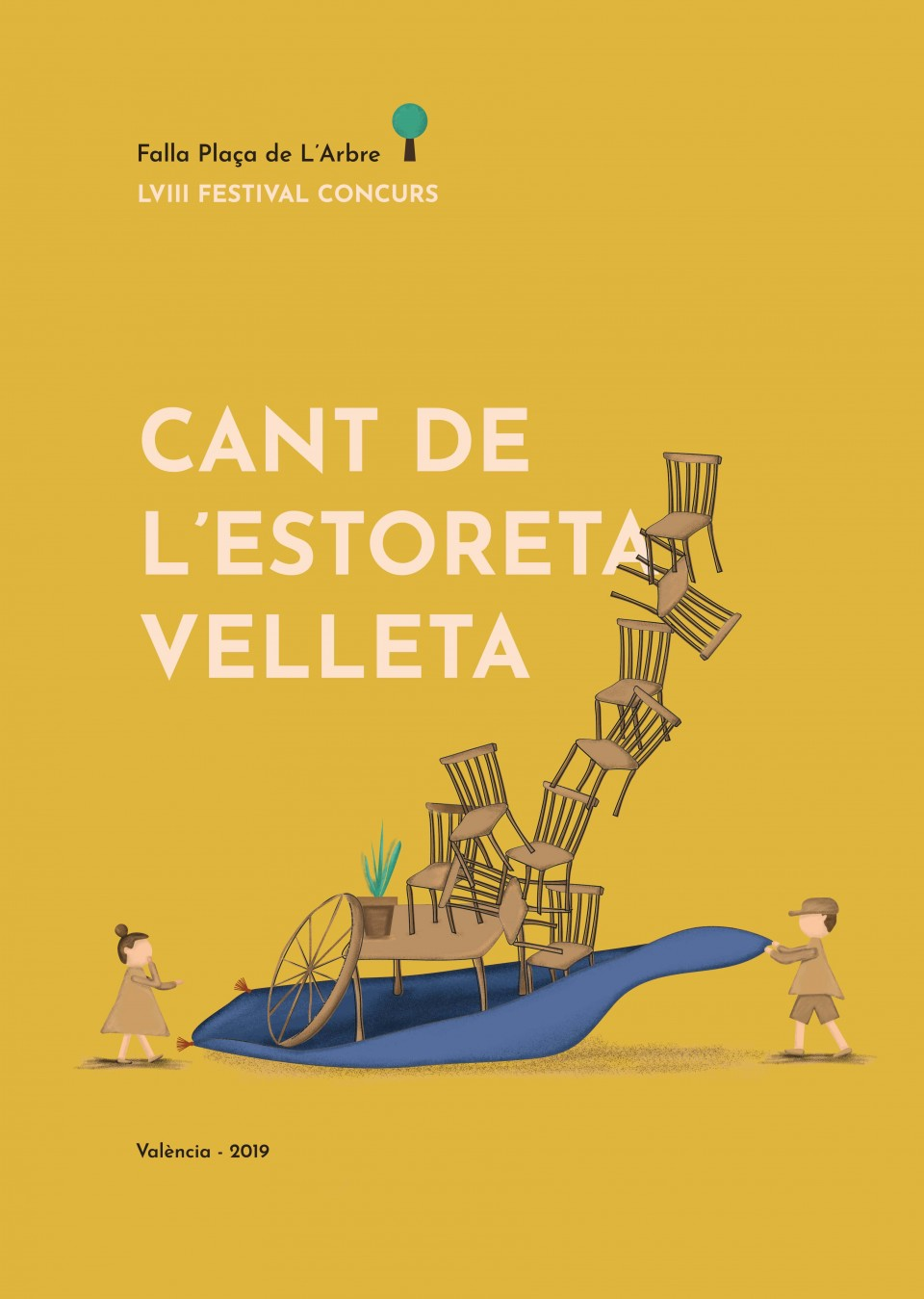 Poster Winner of the EIGHTH Contest of the Poster of the fifty-eighth Edition of the Cant of l Estor