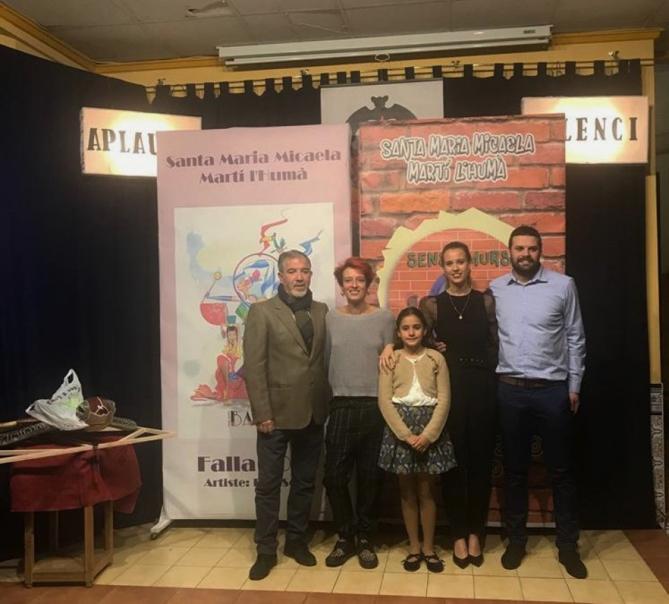 Presentation of Sketches and Award Tabalet 2019 of the Falla Santa Maria Micaela-Martín the Human