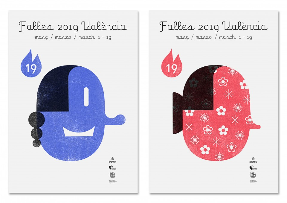 Posters of the Fallas 2019