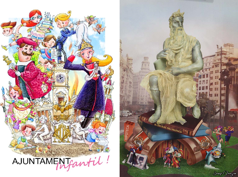 Already known artists of the 2014 municipal Fallas