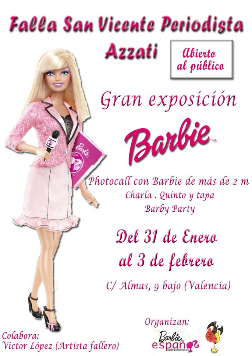Major exhibition Barbie