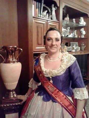 Election President in the city fails of the Fallas artist