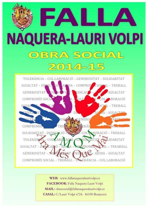 Lauri Volpi of Burjassot Naquera Falla continues to expand horizons of solidarity 1