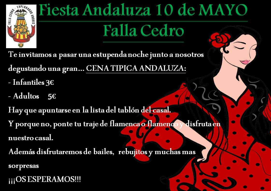 ANDALUSIAN PARTY Falla CEDAR 1