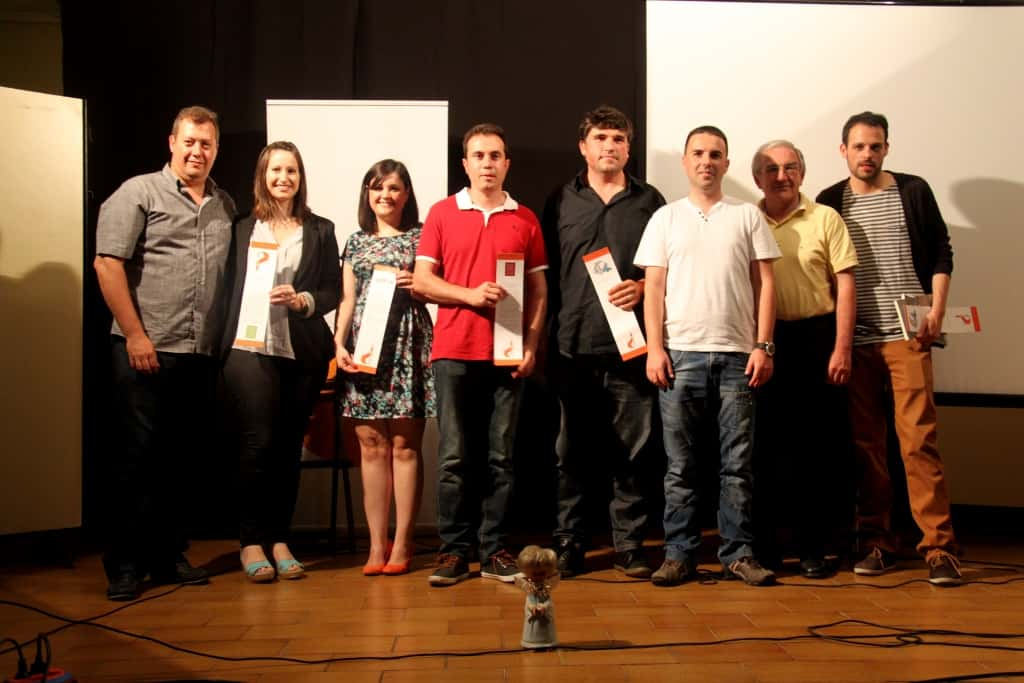 The Festa de Lletres Falleres promoted the Valencian and delivered their humorous prizes. 3