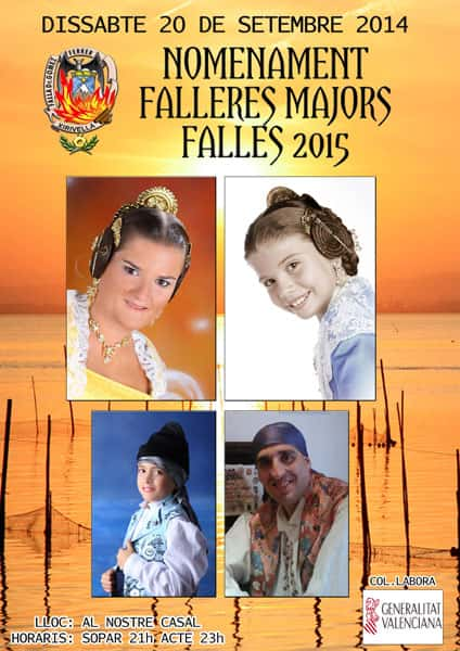 Appointment major fallers of the Falla Dr. Gómez Ferrer 1
