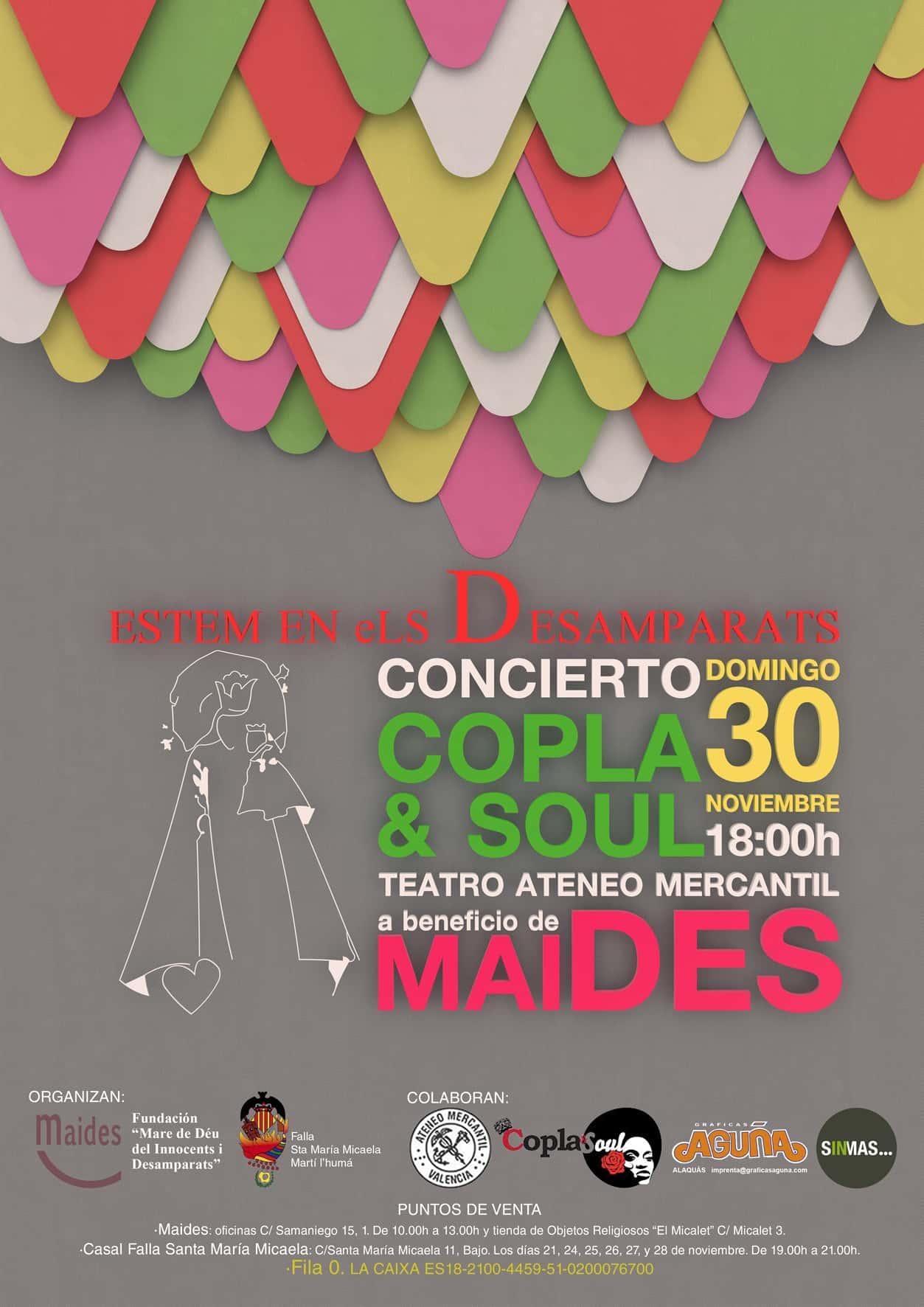 Concierto in favor of MAIDES Falla Santa Maria Micaela – Martin the humane