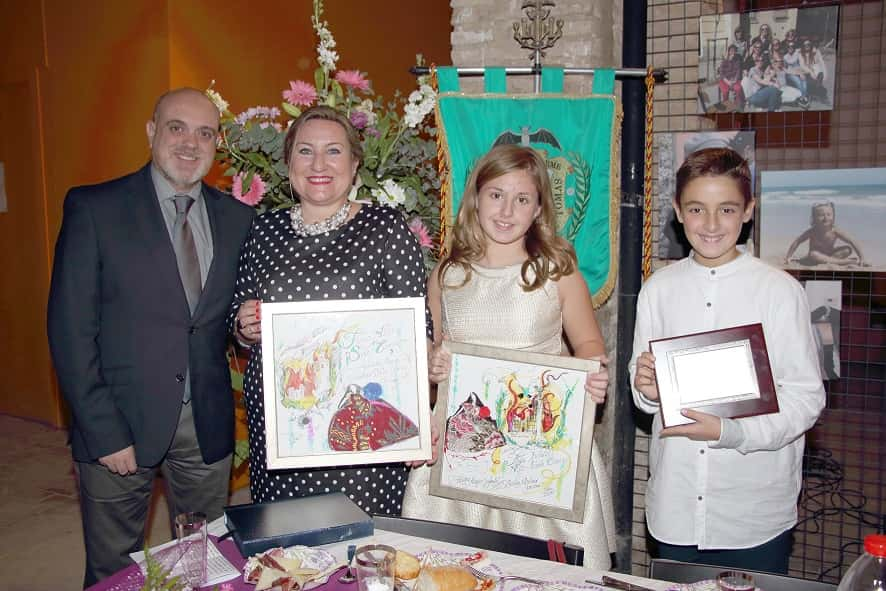 Appointment older fallers and child President 2015 high Falla - Santo Tomás 1