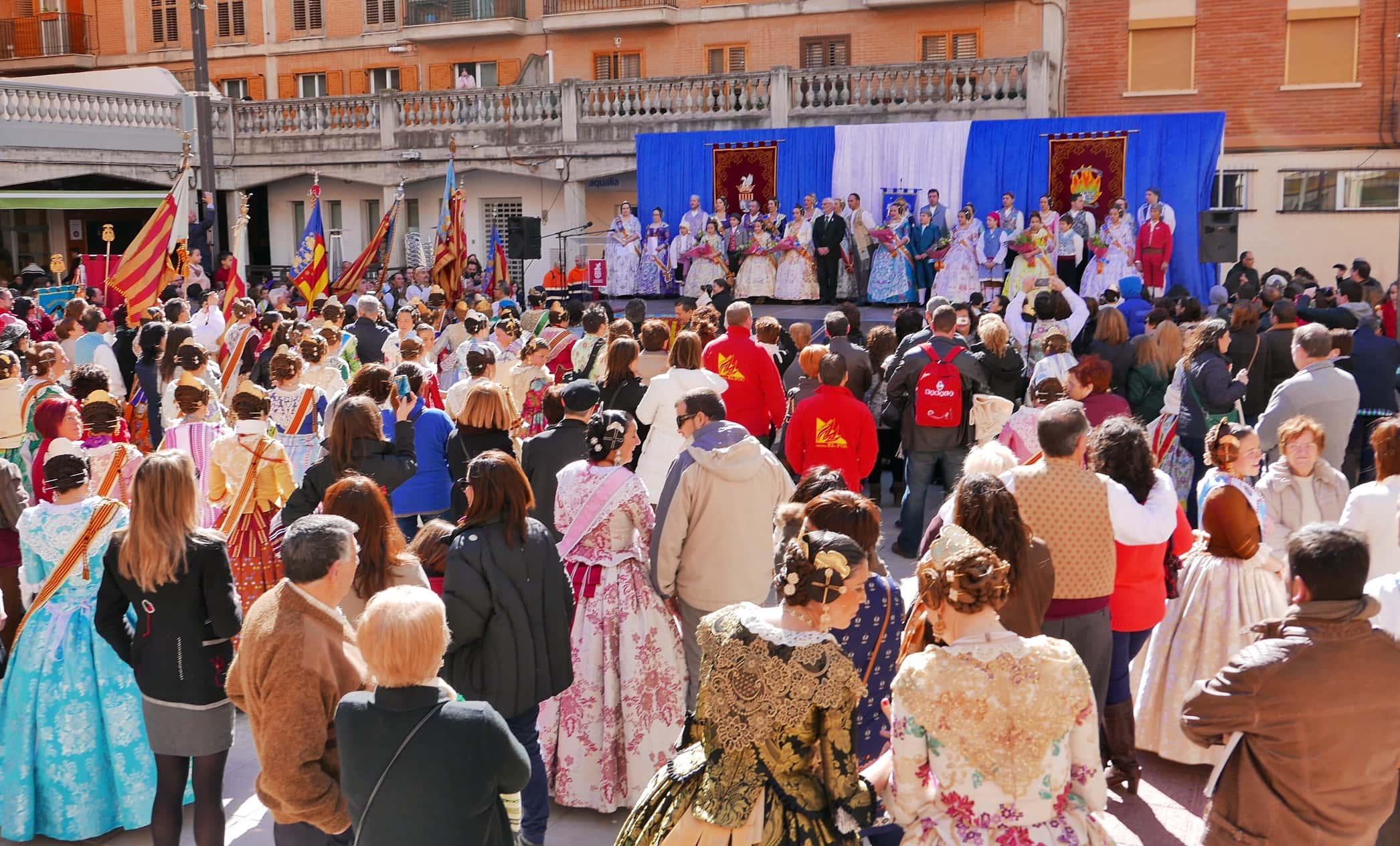 The call marks the beginning of the Fallas 2015 in alboraya