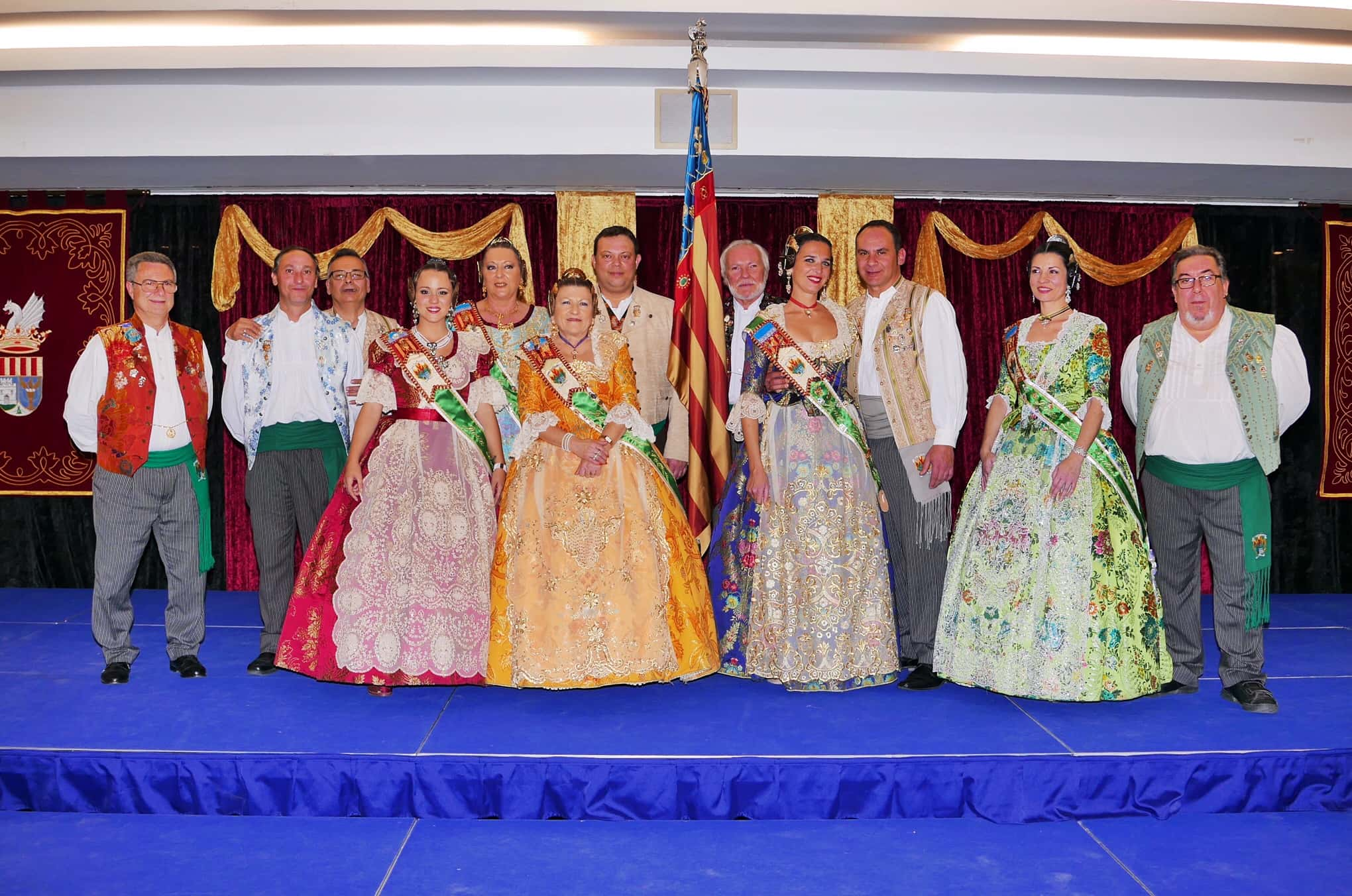 The Gala, Alboraya Fallera brings together all the major fallers of the municipality 1