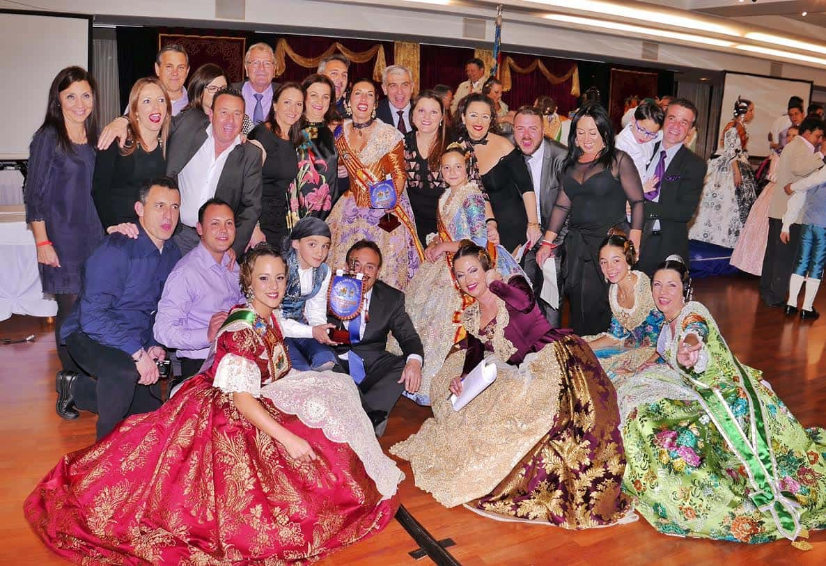 The Gala, Alboraya Fallera brings together all the major fallers of the municipality 3