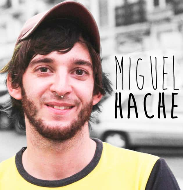 Miguel Hache planted one more year in the special section on Falla Malvarrosa