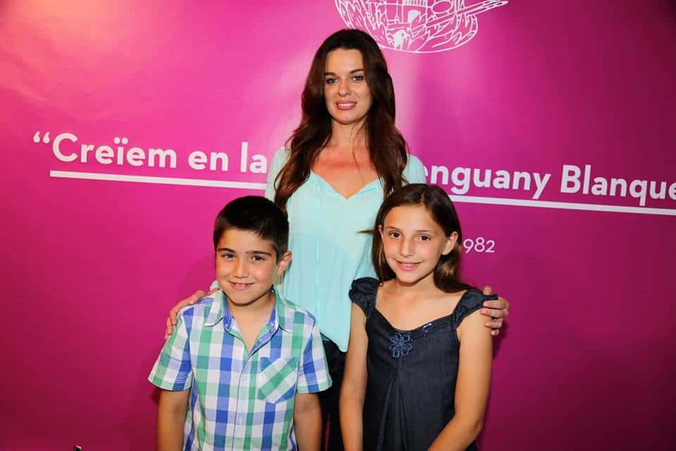 Guillermina, Hector and Victoria, representatives of the Falla Blanquerias for 2016