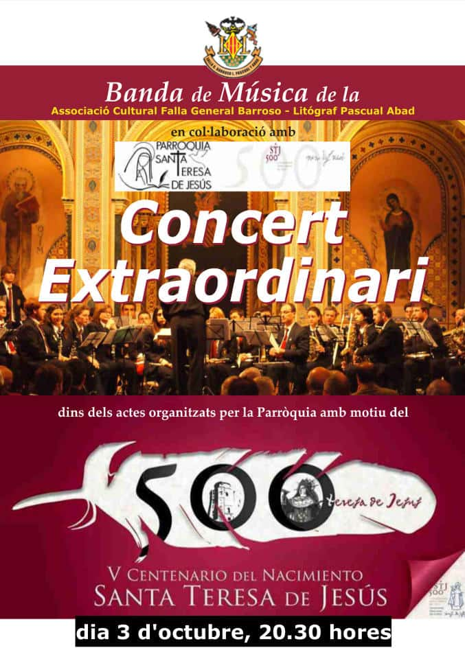 Next concert of the band Falla General Barroso 1