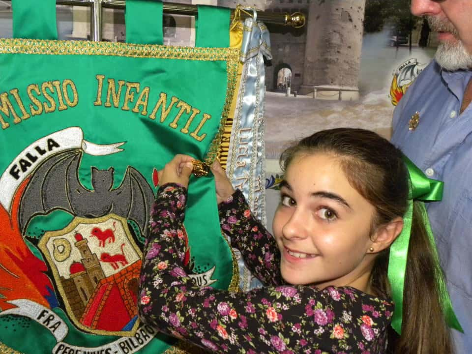 The Falla Fray Pedro Vives-Bilbao-Maximiliano Thous Debuts banners on its 50th anniversary 3