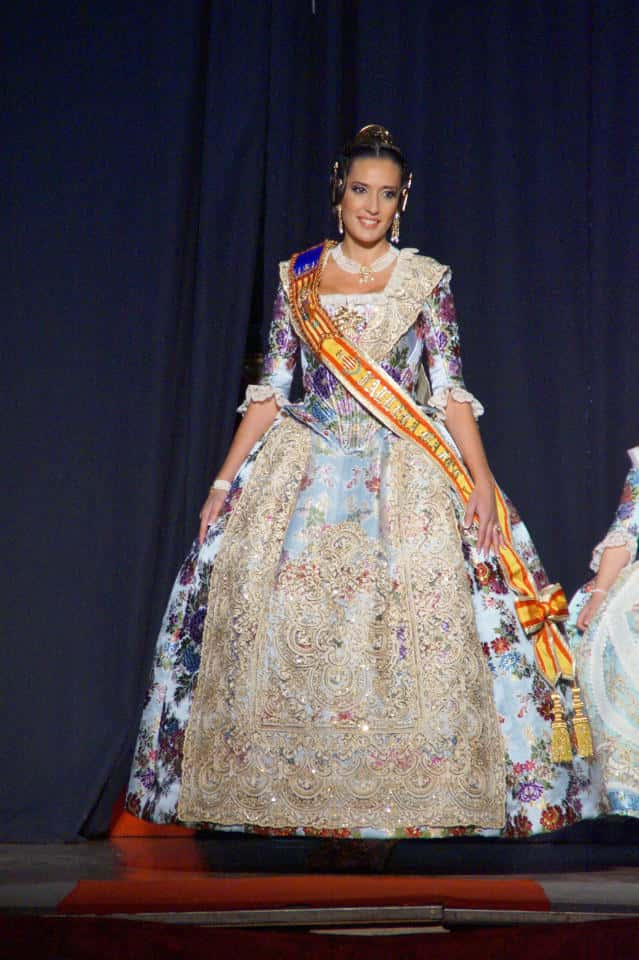 Exaltation of the major fallers of Els Lleons the Fallas by 2016 3