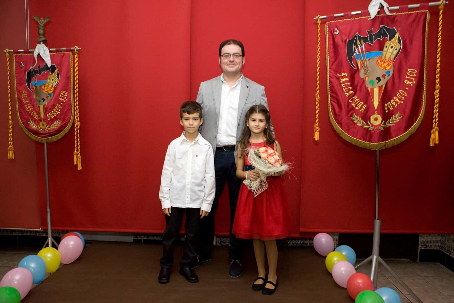 Proclamation of the Fallera more children of the Falla Cuba Puerto Rico for 2016