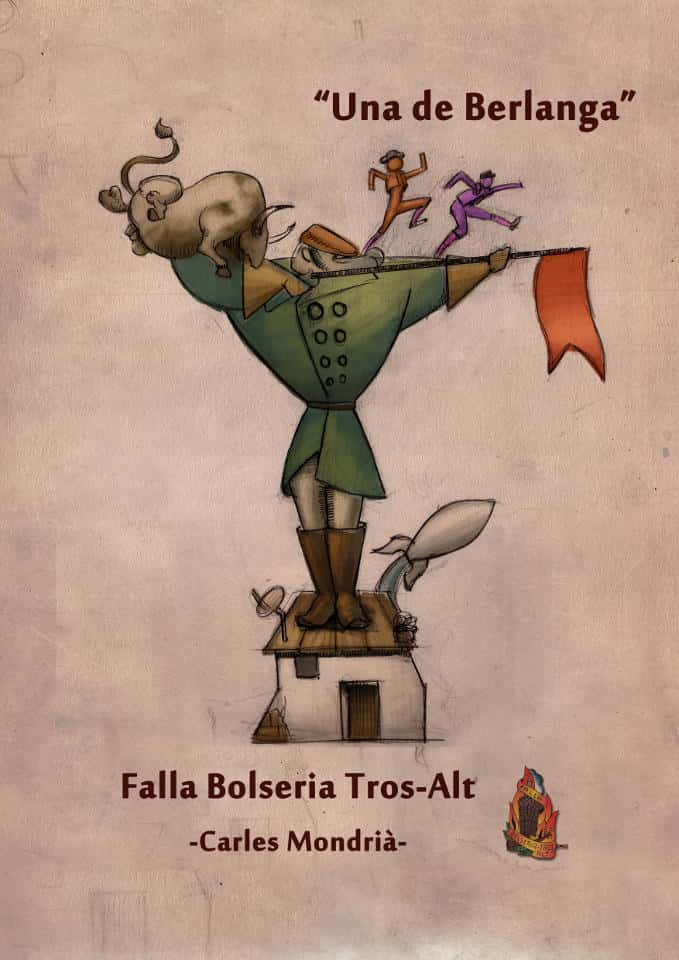 The Falla Bolseria presents its projects by 2016 3