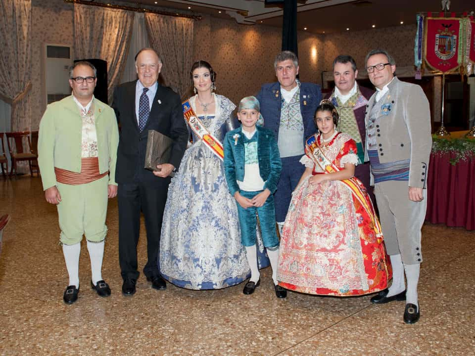 The Falla Sueca - Literato Azorín exalts its Falleras Mayores for the Fallas 2016 3
