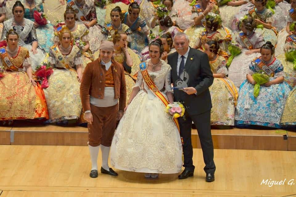 Exaltation of the major maritime Falleras the Fallas by 2016