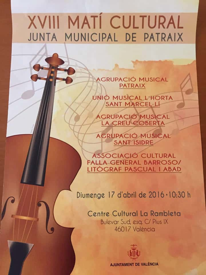 Concert band music of the Falla General Barroso 1