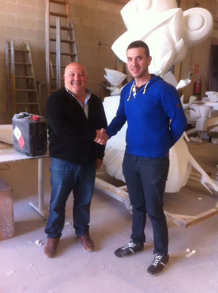 The Falla Trinitat Alboraia Renews with the Falla artist Manuel Martínez Reig for the 2017 Fallas 1