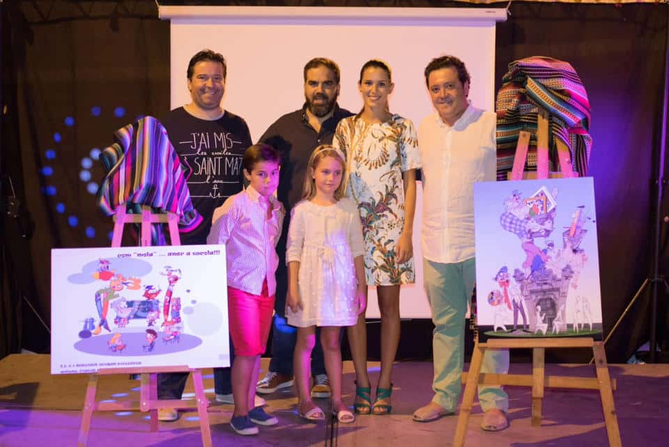 The Falla Av. Burjasot Joaquín Ballester and Reus presents his sketches for the 2017 Fallas 1