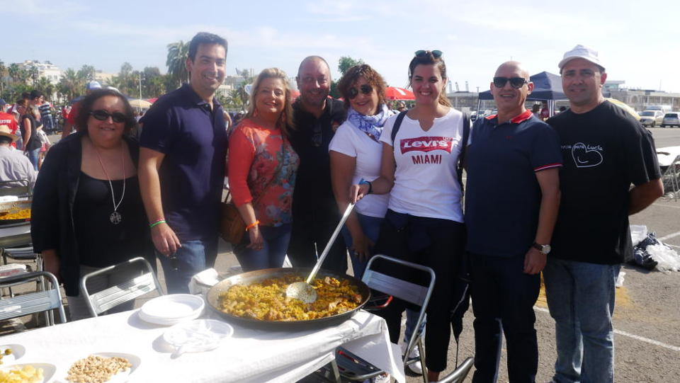III Festival of paella solidarity of the grouping of Fallas of the maritime 2