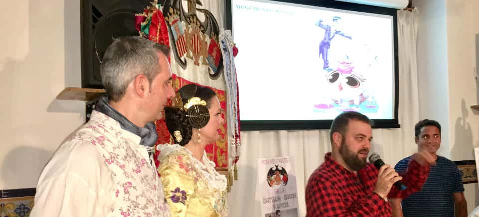 Presentation of projects of the Castellón Segorbe Falla for the 2017 Fallas 2