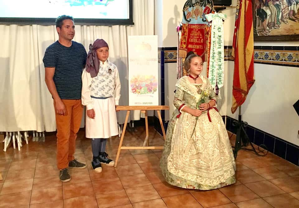 Presentation of projects of the Castellón Segorbe Falla for the 2017 Fallas 3