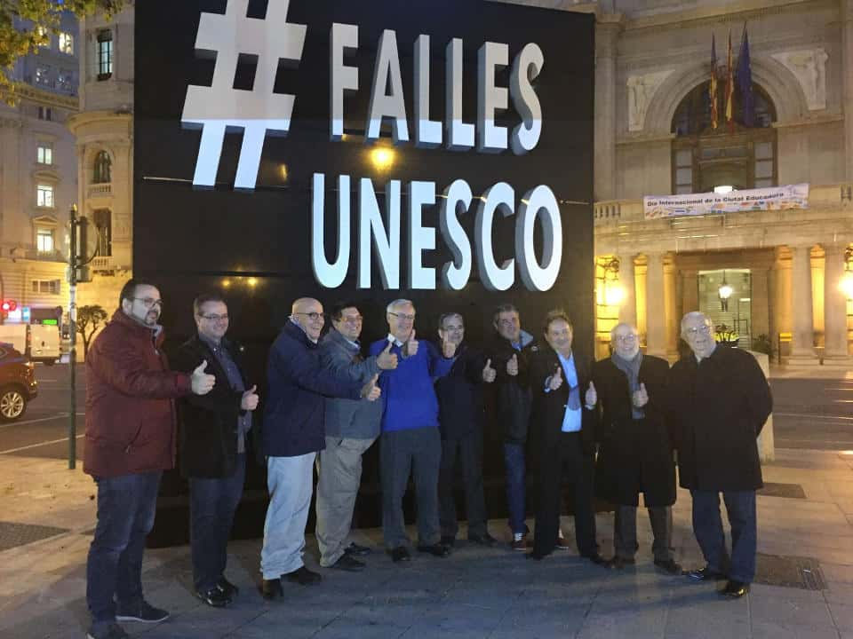 Statement of press Interagrupacion #FallesUnesco 1