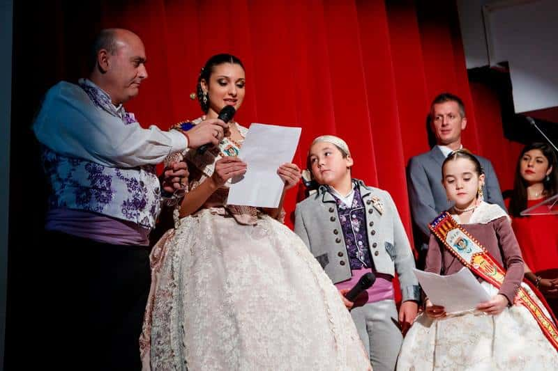 The grouping of Fallas of Mislata presents its 2017 Fallas 2