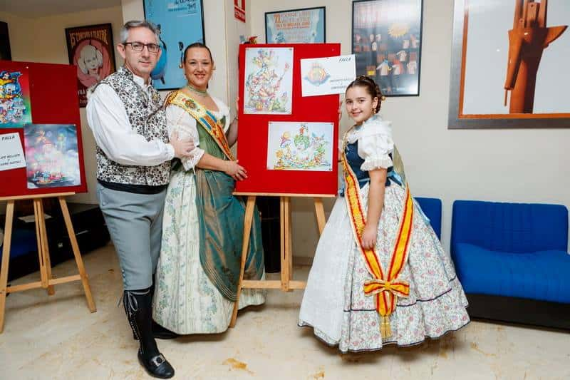 The grouping of Fallas of Mislata presents its 2017 Fallas 4