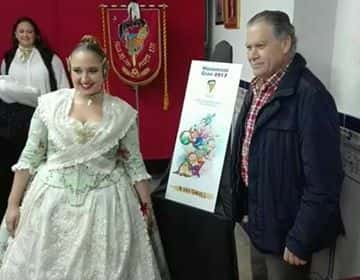 The Falla Cuba Puerto Rico presented sketches of the monuments for the 2017 Fallas 4