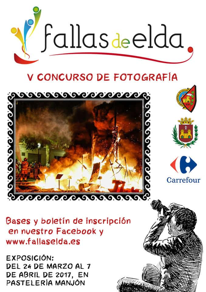 Bases of the V contest photo of the Fallas of Elda