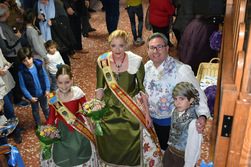 Inauguration of the Cultural week of the Olivereta Falla 1