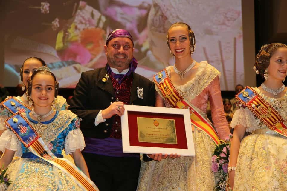The grouping of Fallas of the maritime exalted their Fallera Mayors for the 2017 Fallas 1