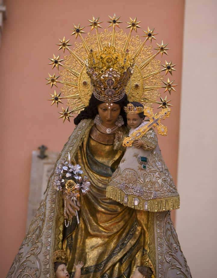 The Pilgrim image will visit Casal Xe and the San Agustin Church between 24 and 26 February 1