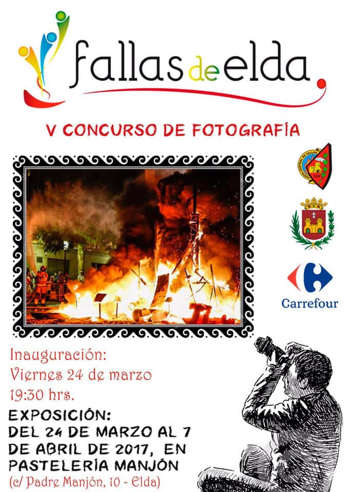 Half year Faller in the Fallas of Elda