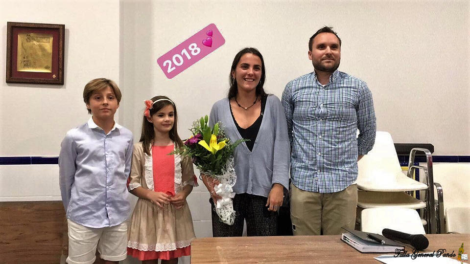 The General Falla Pando - Serrano Flores appointed their representatives to the Fallas 2018 1