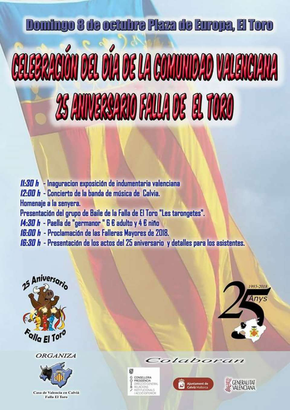 Day of the Valencian Community in Mallorca 1