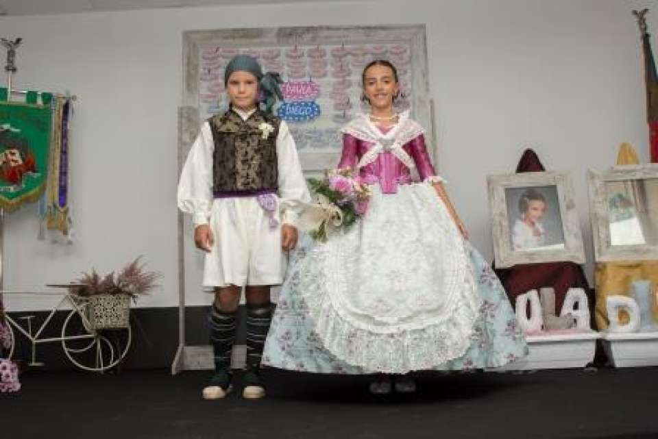 The Falla Fra Pere Vives-Bilbao-Maximilià Thous proclaimed their child representatives 1