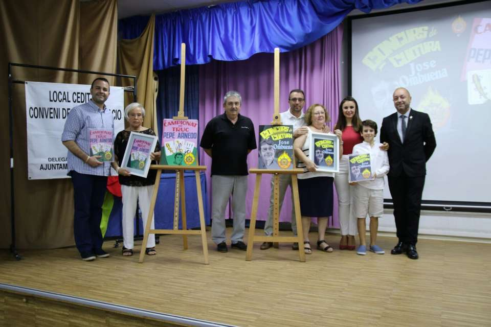 Presentation of the posters advertising the Championship of Trick and the Contest of Culture 3