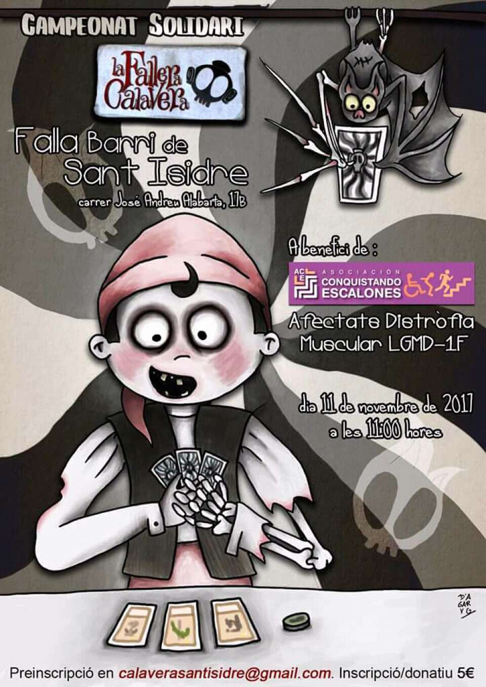 Tournament of Solidarity of The Fallas Skull in Fails San Isidro Valencia 1