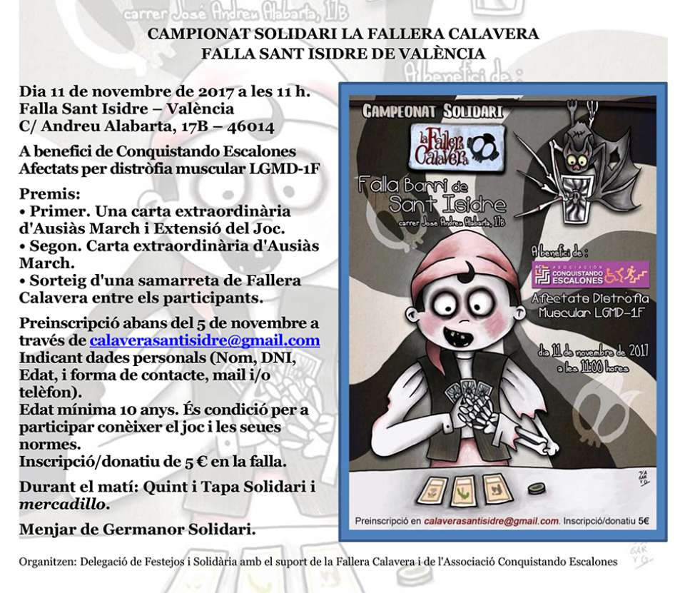 Tournament of Solidarity of The Fallas Skull in Fails San Isidro Valencia 3