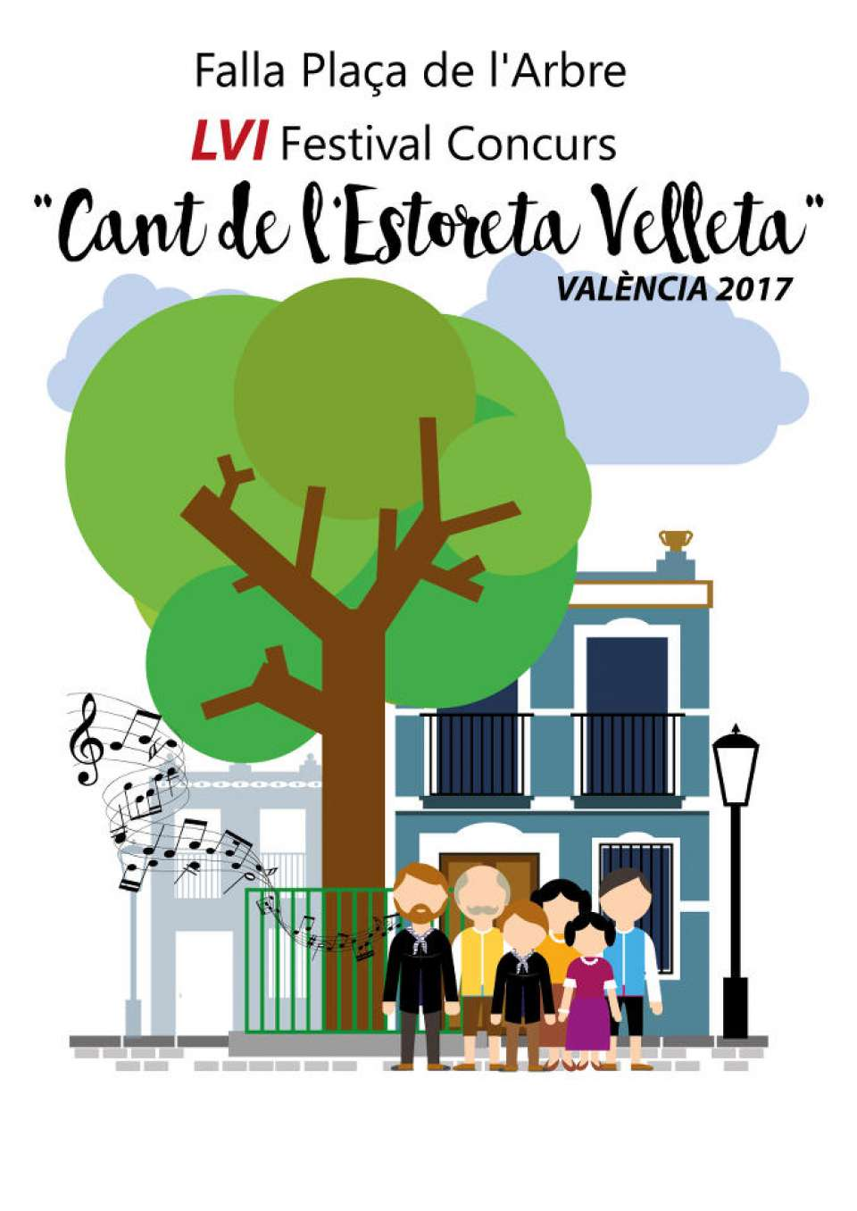XXVII Edition of the Contest of Posters advertising the Cant of l estoreta velleta